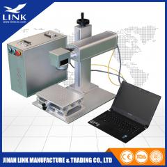 Most Popular Portable Model 2 mini  fiber laser marking machine