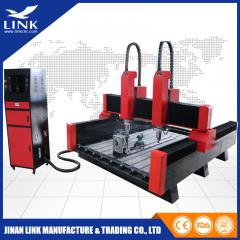2 spindles stone cnc router LXS1325-2