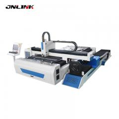 High quality manganese steel gantry moving laser fiber metal cutting machine for tube and plate