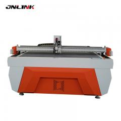 Automatic cloth tape with vibrating knife head die cutting machine carton box
