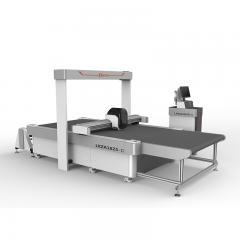 2019 new 1625 Automatic Intelligent CCD Cnc Vibrating Knife Cutting Machine