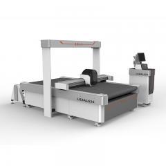 2019 new 1625 Auto Feeding CCD Cnc Vibrating Knife Cutting Machine