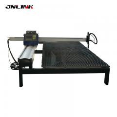 1530 portable plasma cnc cutting machine price with sawtooth working table