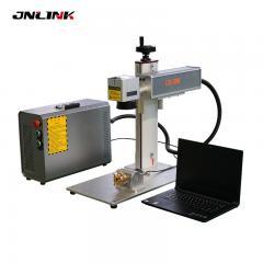 PVC pipe fiber laser marking machine 20w 30w for metal