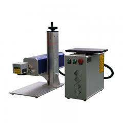 30w 50w 100w Beautiful Mini Portable CO2 Laser Marking Machine  for sale